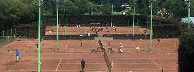 arrienda cancha en Academia de Tenis La Rana