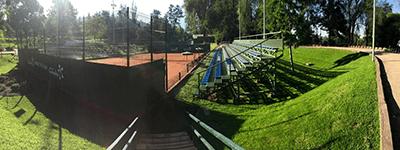 arrienda cancha en Parque Tenis El Alba